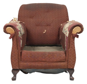 Furniture Medic of Ottawa Upholstery and Leather Furniture Repairs and Restoration Before